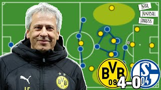 How Favre's Borussia Dortmund Tactics Destroyed Schalke 04 [4-0] | Bundesliga | Tactical Analysis