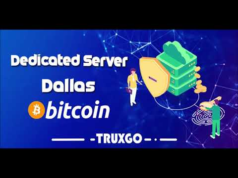 ~Dallas~Dedicated Server~Bitcoin~