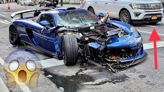 Gemballa Mirage Carrera GT 1 of 25 Crash in NYC New York City