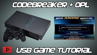 [How To] Use Codebreaker10 With OPL PS2 USB Games Tutorial (English)
