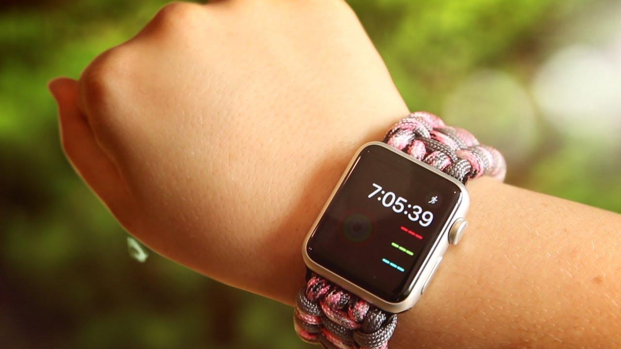 Survival Straps Paracord Apple Watch Strap [CoM Watch Store]