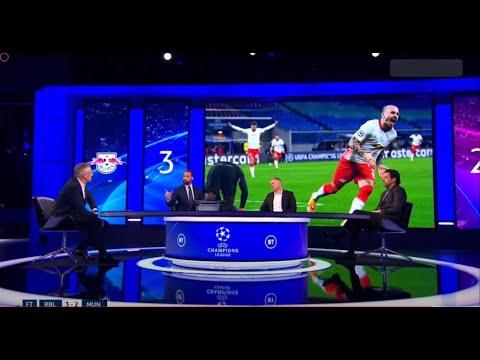 RB Leipzig 3-2 Man United - Post Match Analysis with Rio Ferdinand & Paul Scholes