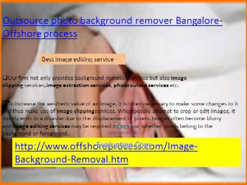 Outsource photo background remover Bangalore - Offshore process-