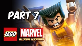 LEGO Marvel Super Heroes Gameplay Walkthrough - Part 7 WOLVERINE Ryker