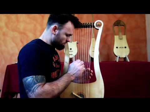 Seikilos Epitaph & Improvisation on Tenor Gallic lyre  - Benjamin Simao