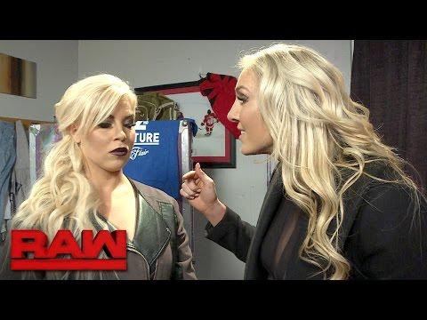 Charlotte Flair wants Dana Brooke to keep Sasha Banks from WrestleMania: Exclusive, March 12, 2017