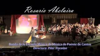 Capote de Grana y oro. Rosario Abelaira y la Banda de Fuente de Cantos
