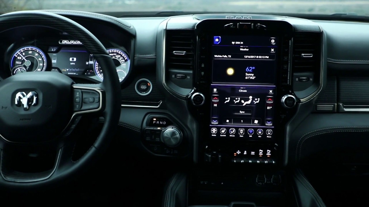2019 Ram 1500 interior - YouTube