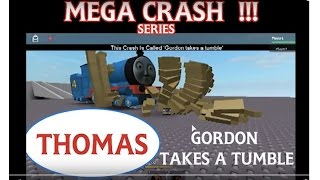 Thomas and Friends Accidents | ROBLOX Crash Remake : Gordon takes a tumble