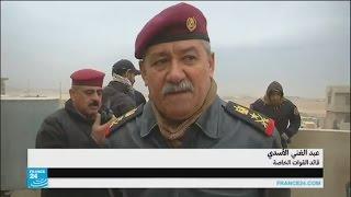 طيران التحالف يقصف جسور الموصل للحد من هجمات الجهاديين المضادة