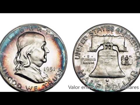 TOP 7: Los HALF DOLLARS De Franklin MAS VALIOSAS De USA