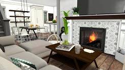 Sims 4 home family ideas - YouTube