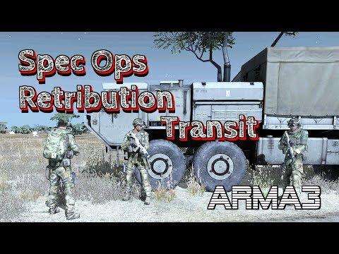 ARMA 3 Spec Ops Retribution Part2 Transit by Ramhat 100% Original gameplay
