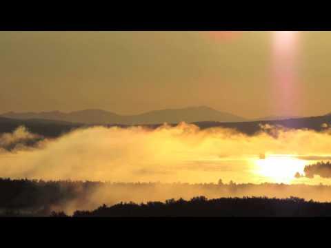 "Enya - ""La Soñadora"" - Sunrise Over Misty Lake In Maine"