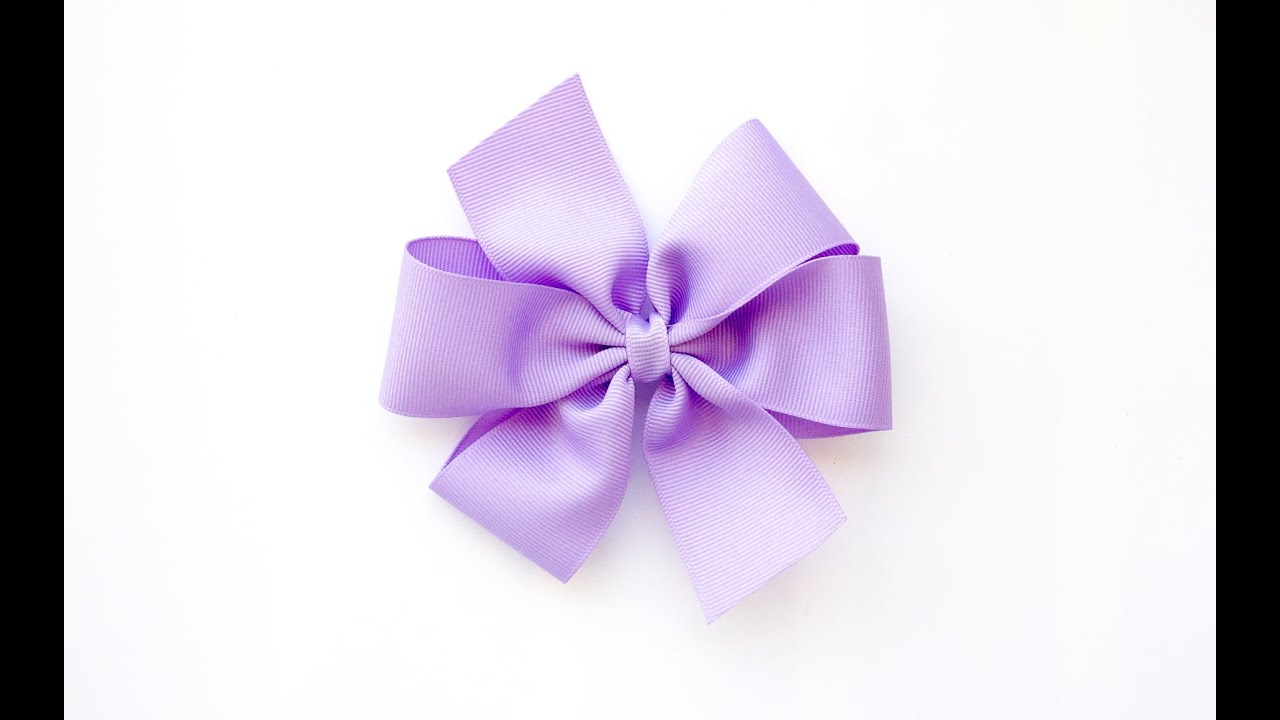Pinwheel bow and bowmaker tutorial youtube pronofoot35fo Gallery