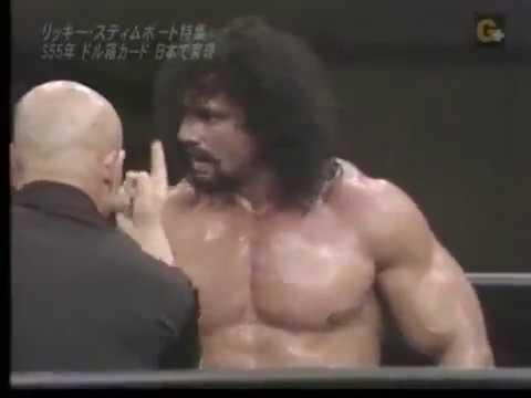 AJPW - Jimmy Snuka vs Ricky Steamboat