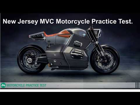 New Jersey motorcycle written practice test