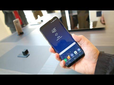 Samsung Galaxy S8 First Look: Samsung UnPacked 2017