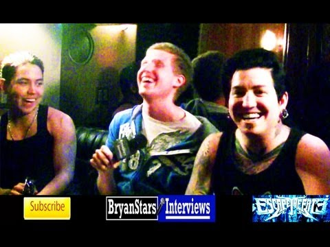 Escape The Fate Interview #3 Craig Mabbitt 2012