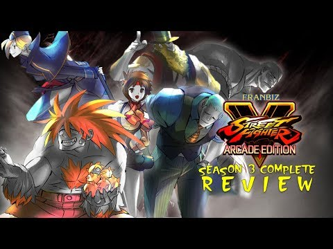 Street Fighter V Arcade Edition Season 3 Complete Review