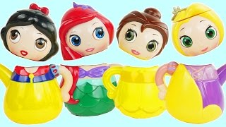 Disney princess teapots have surprises