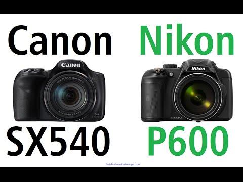 Canon PowerShot SX540 HS vs Nikon Coolpix P600