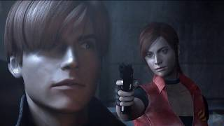 RESIDENT EVIL CODE VERONICA: The Darkside Chronicles All Cutscenes (Game Movie) 1080p 60FPS