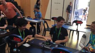 Feliks zemdegs Rubik's cube world record 4.73 seconds