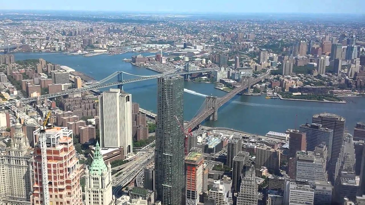 Freedom tower observation deck - YouTube