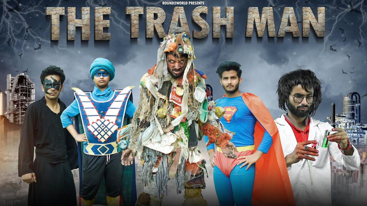 The Trash Man | Round2World | R2W