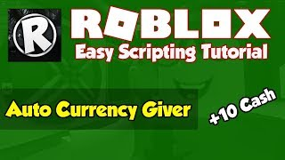 Roblox | How to make an Auto Currency Giver [2019]