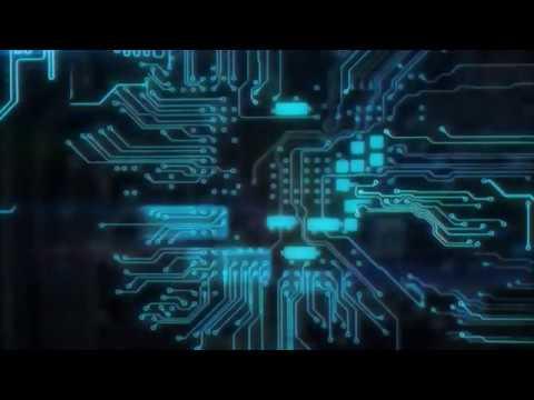 Digital Circuit Board Logo Animation Work | Unitmask - YouTube