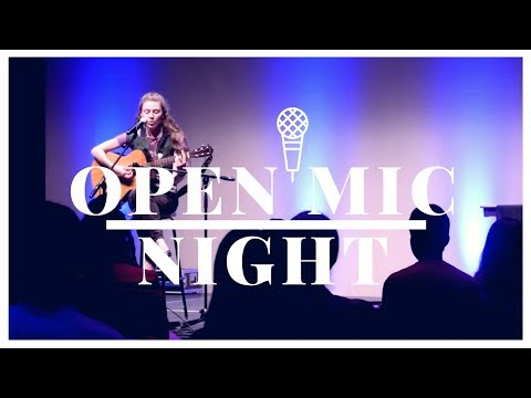 Open Mic Night at the Mondavi Center 2017