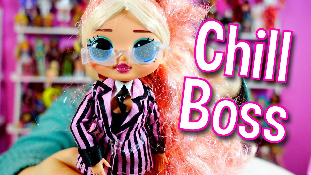 SHIPS TODAY O.M.G NEW LOL Surprise OMG BIG WIG Winter Chill Doll L.O.L