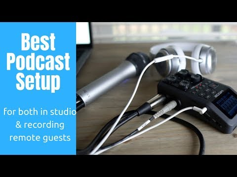 Best Podcast Setup For In Studio Or Guests And Co-hosts In Two Locations