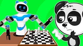 Мультики Для Детей - Роботы Трансформеры Учим Цифры - Развивающий Мультфильм