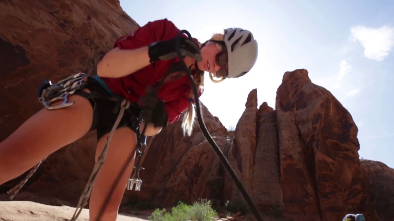 Moab Canyoneering - Morning Glory short with Red River Adventures