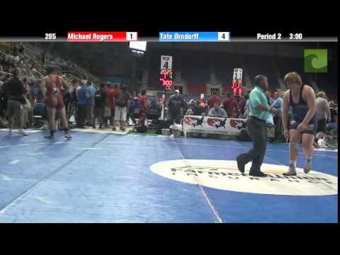 285 Michael Rogers vs. Tate Orndorff