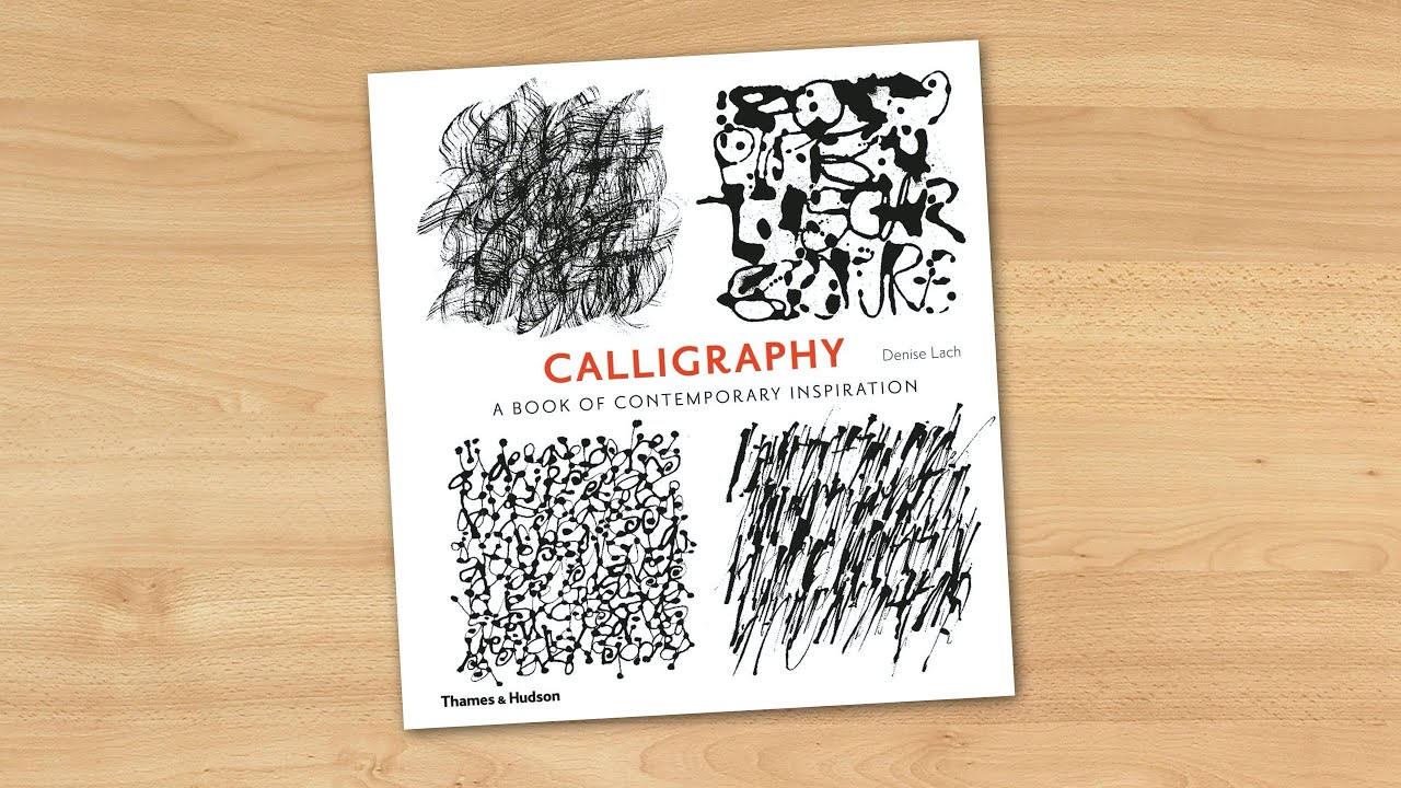 Calligraphy a book of contemporary inspiration youtube