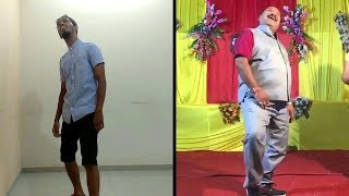 #Aap Ke Aa Jane Se Song   Dance Performance Viral Dabbu Uncle   Govinda style dance