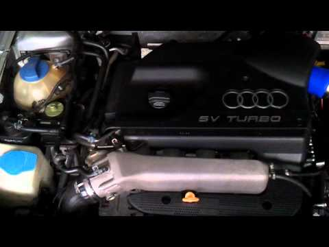 First Start A3 quattro after 1.8T AQA 150PS to  AJQ 180PS Conversion