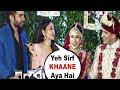 Jay Bhanushali And Mahhi Vij FUNNY Interview At Prince Yuvika Marriage