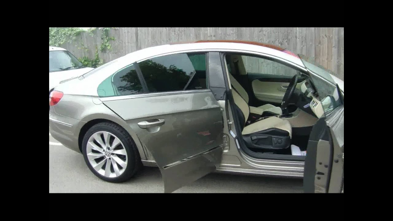 2010 volkswagen passat cc gt 2 0tdi 140 coupe for sale in hampshire youtube. Black Bedroom Furniture Sets. Home Design Ideas