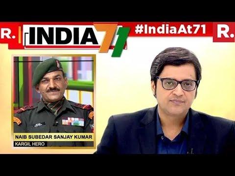 Naib Subedar Sanjay Kumar, Kargil Hero And PVC Awardee Speaks To Arnab Goswami  #HeroesOfIndia