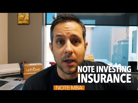 Note Investing Insurance - Note Investing Podcast