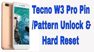 Tecno W3 Frp Reset File Download