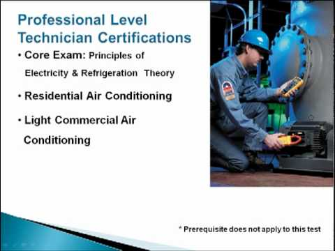 HVAC Technician Certification (Extended Version)