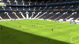 """Fifa 10 pc gameplay demo """"real"""""""