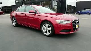 Used 2012 Audi A6 3.0T Premium Plus WAUGGAFC3CN134183 St James, Smithtown, Medford, Stony Brook