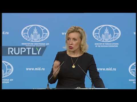 Russia: EU-Ukraine visa agreement is 'theatre of the absurd' - Zakharova